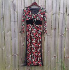 XS XXS Extra Small Vintage 60s 70s Faux by PinkCheetahVintage