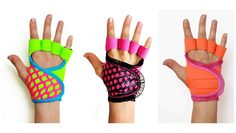 Cute and functional weight lifting gloves designed for women | via @FitBottomedGirl #fitness #strength #style