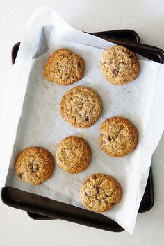 Cakelets & Doilies: Hazelnut and Chocolate Chips Flourless Cookies Hazelnut Cookies, Chocolate Hazelnut, Dark Chocolate Chips, Chocolate Chip Cookies, Gluten Free Biscuits, Gluten Free Baking, Biscuit Cookies, Biscuit Recipe, Brownie Recipes