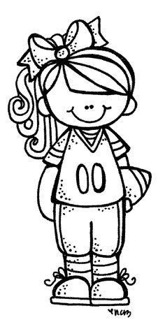 MelonHeadz: Super Bowl Mädchen :) – Sietie Steerenberg-Bons – Join in the world of pin Colouring Pages, Coloring Sheets, Coloring Books, Cute Clipart, Girl Clipart, Stick Figures, Digi Stamps, Copics, Art Plastique