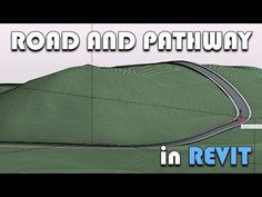 Road and Pathway in Revit Revit Family, Building Information Modeling, Revit Architecture, Civil Engineering, Autocad, Pathways, Other People, Software, Presentation