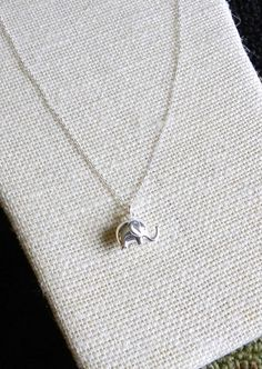Lucky little elephant necklace