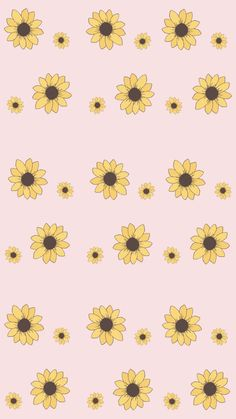 The post wallpaper 56 appeared first on Fosforlu Düşünceler! Tumblr Wallpaper, Wallpaper Pastel, Iphone Wallpaper Vsco, Sunflower Wallpaper, Homescreen Wallpaper, Cute Patterns Wallpaper, Iphone Background Wallpaper, Aesthetic Iphone Wallpaper, Disney Wallpaper