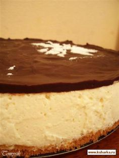 """Торт""""Птичье молоко"""" Good Food, Yummy Food, Delicious Recipes, Home Recipes, Cooking Recipes, Russian Cakes, Cook At Home, Family Meals, Cheesecake"""
