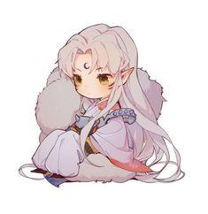 Kawaii Anime, M Anime, Kawaii Chibi, Cute Chibi, Anime Art Girl, Manga Art, Anime Naruto, Inuyasha Fan Art, Inuyasha Funny