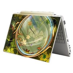 """Bundle Monster Laptop Notebook Skin Sticker Cover Art Decal - 12"""" 14"""" 15"""" - Fit HP Dell Asus Compaq - Flower Tunnel Laptop Design, Bundle Monster, Notebook Laptop, Laptop Computers, Laptop Stickers, Computer Accessories, Cover Art, Laptops, Decal"""