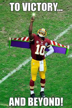 Robert Griffin III, or RG3, Superhero, whatever you want to call him we are all about our Washington Redskins quarterback.