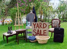 Yard Sale like a Pro – Your junk IS someone else's treasure.