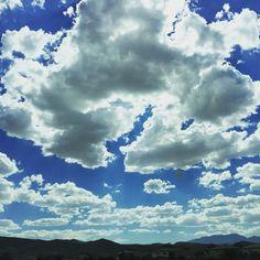 Clouds in California