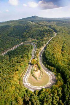 Nürburgring Nordschleife. I'm going here someday.