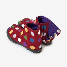 Split-Toe Tabi Shoes Polka Dots Multi Color : SOU • SOU US Online Store