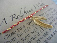 Washington Redskins Wish Bracelet