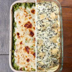 Spinach Pasta Vs. Zucchini Pasta by Tasty