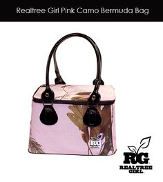 Realtree Girl Pink Camo Bermuda Bag - Now Available! #realtreegirl