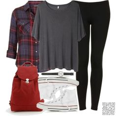 19. More #Plaid! - Have You Planned Your Back to #School Outfit Yet? → Teen #Outfit