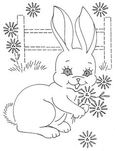 use this bunny w/ other quilt-sized blocks!