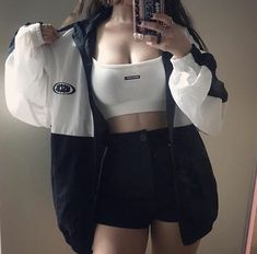 3 Valiant Clever Tips: Urban Fashion Female Spaces urban wear streetwear outfit. Mode Outfits, Korean Outfits, Grunge Outfits, Girl Outfits, Casual Outfits, Fashion Outfits, Dress Fashion, Summer Outfits, Fashion Shoot