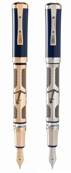 Ulysse Nardin Fountain Pen comes with a travel inkwell