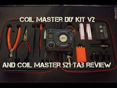 Coil Master 521 Tab and DIY Kit V2 Plus GIVEAWAY! Ends on Thanksgiving!! - YouTube