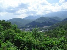Smokey Mountains - where I am right now!