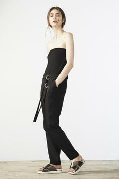 Elizabeth and James Resort 2015 Courtesy Photo Mary-Kate and Ashley Olsen took the minimalist sportswear they showed for fall and gave it a sporty beach vibe for resort.
