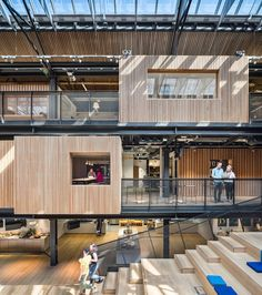 The Warehouse, Dublin, Airbnb Environments | Heneghan Peng Architects #office #headquarters