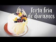 Torta Fría De Duraznos- húmeda y Esponjosa - YouTube Fondant, Cake Decorating, Cheesecake, Birthday Cake, Baking, Desserts, Diana, Youtube, Mary