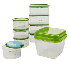 Smart Portion 18 Piece Food Storage Container Set