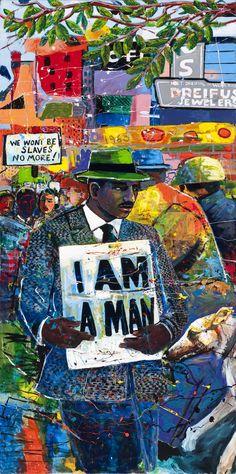 MLK mural | photos atlantans team up to paint mlk mural