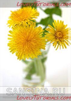 Dandelion flower making tutorial gumpaste flower tutorial