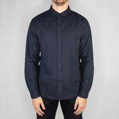 ea222b52a1 Life After Denim - Ithaca Double Cloth Long Sleeve Shirt Black