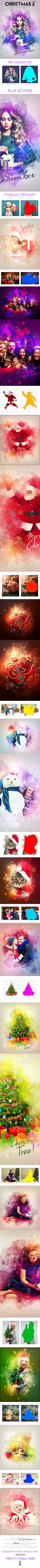 Christmas 2 Photoshop Action #photoeffect Download: http://graphicriver.net/item/christmas-2-photoshop-action-/13813427?ref=ksioks