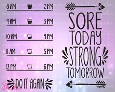 Motivational Water Bottle Front & Back Fitness Workout Vinyl Decal Cutting File in Svg, Eps, Dxf, Png, and Jpeg for Cricut and Silhouette (Water Bottle Gift) Cricut Vinyl, Vinyl Decals, Yeti Decals, Cricut Fonts, Vinyl Crafts, Vinyl Projects, Vinyl Tumblers, Silhouette Projects, Silhouette Cameo