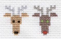 cross-stitch patterns reindeer - Google Search
