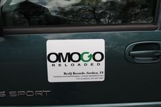 Omogo Reloaded Car-door Magnet Promo