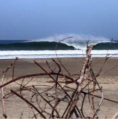waves out front La Chancleta Beach Resort