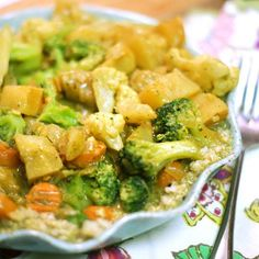Quick & Easy Coconut Curry