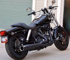 Harley Fat Bob Blacked Out - Bing Images