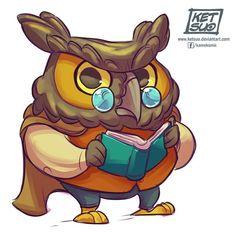 Ketsuo Tategami: Night Owl for Sketch Dailies