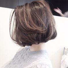 Pin on ヘアスタイル Short Grunge Hair, Short Hair Cuts, Edgy Hair, Hairstyles Haircuts, Pretty Hairstyles, Bob Haircuts, Short Bob Hairstyles, Medium Hair Styles, Curly Hair Styles