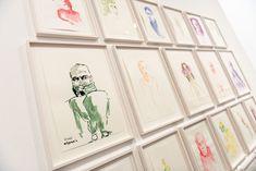 """""""Peace & Plenty"""" Ausstellung mit 300 Zeichnungen von Erwin Wurm in der Wiener Albertina. Albertina, Erwin Wurm, Portrait, Theater, Gallery Wall, Frame, Photography, Inspiration, Decor"""