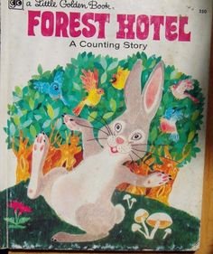 A Little Golden Book Forest Hotel A Counting Story by Barbara Steincrohn Davis