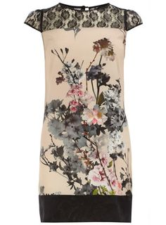 DOROTHY PERKINS  Blush blossom lace dress  Was £38.00  Now £25.00  Colour: pink  Item code: 07997216