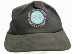 OUTDOOR AMUSEMENT BUSINESS ASSOCIATION HIPSTER CAP SWAG BASEBALL TRUCKER CAP HAT #BaseballCap