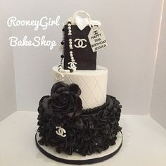 Chanel Birthday Cake on Cake Central