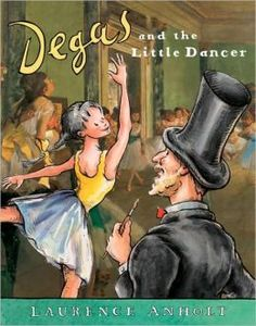 ballet books for kids degas and the little dancer