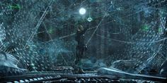 The three dimensional star map inside the Orrery from the movie Prometheus. Visual effects by Fuel VFX.