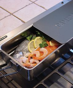 Look at this Gourmet Mini Stovetop Smoker on #zulily today!