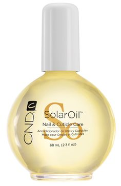 Award-winning cuticle oil is infused with jojoba oil and vitamin E. Repeated use drives nutrients in deeper, creating stronger, healthier nails and hydrated cuticle area. SOLAROIL® should be used with ANY nail service. Cuticle Care, Nail Cuticle, Cuticle Oil, Creative Nail Designs, Creative Nails, Cnd Nails, Manicures, Olive And June, Manicure