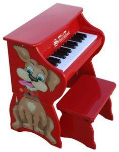 Schoenhut 9258D - 25 Key Dog Piano Pal (Red) Schoenhut http://www.amazon.com/dp/B0014WGP9I/ref=cm_sw_r_pi_dp_tGroub04HMPC0